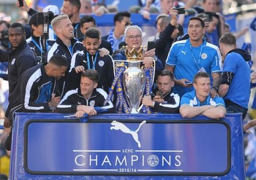 Leicester City's title parade
