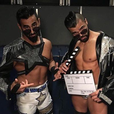 WWE's The Singh Brothers.