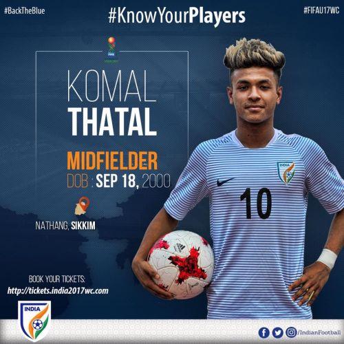 Komal Thatal's short biographical info