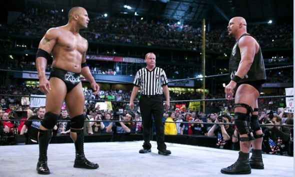 Were The Rock and Stone Cold close outside the ring?