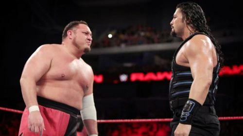 Samoa Joe Roman Reigns