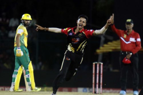 Shubhang gave away just eight runs and snared two wickets in the finals