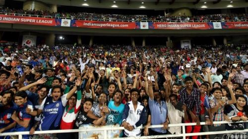 India football fans
