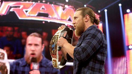 Daniel Bryan relinquishing the Intercontinental Championship