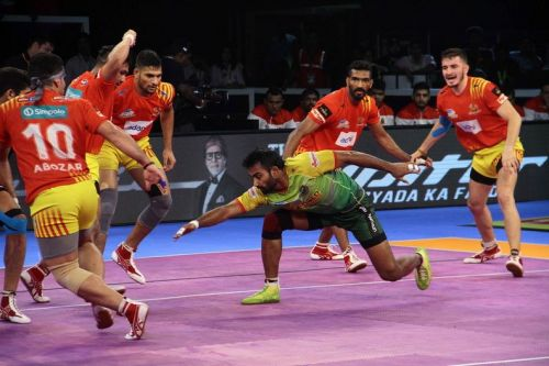 Monu Goyat brought all his experience into play to take Patna to safety