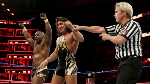 Shelton Benjamin and Chad Gable had a warning for the Usos on Smackdown Live