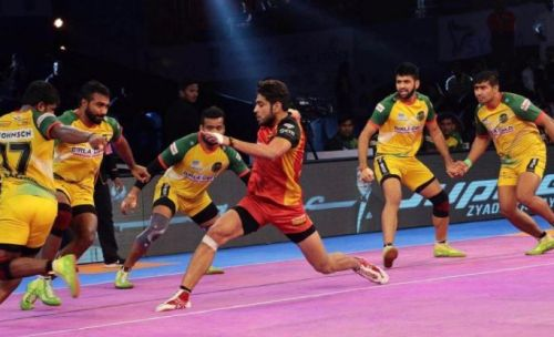 Both Bengaluru Bulls and Patna Pirates played out a thrilling encounter, on Wednesday.