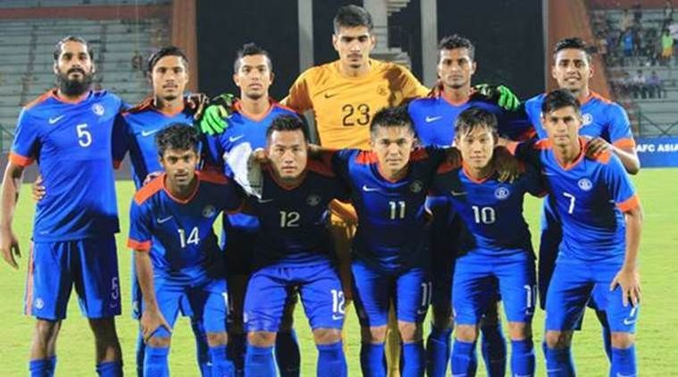 Image result for current indian football team