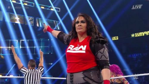 Nia Jax could be part of Team Raw at Survivor Series?