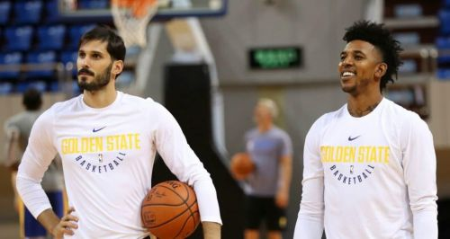 Omri Casspi and Nick Young