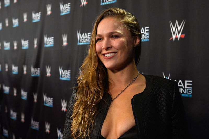 Ronda Rousey started her pro-wrestling training in August