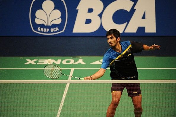 Srikanth is back in action for round two