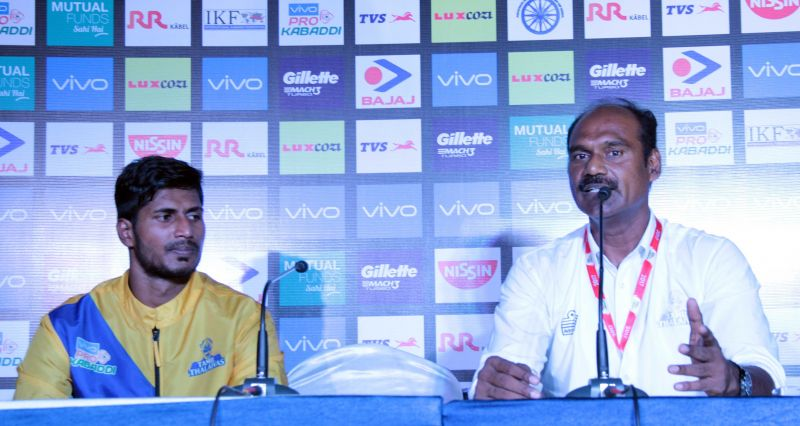Coach Baskaran opened up about his team