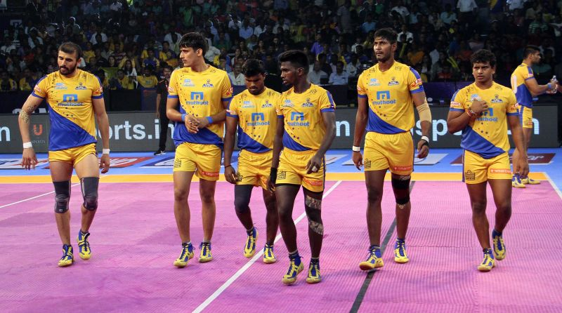 The Thalaivas struggled to get the better of their opponents in crucial moments
