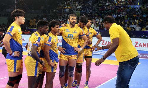 The Thalaivas are one of the youngest teams in Season 5 of PKL