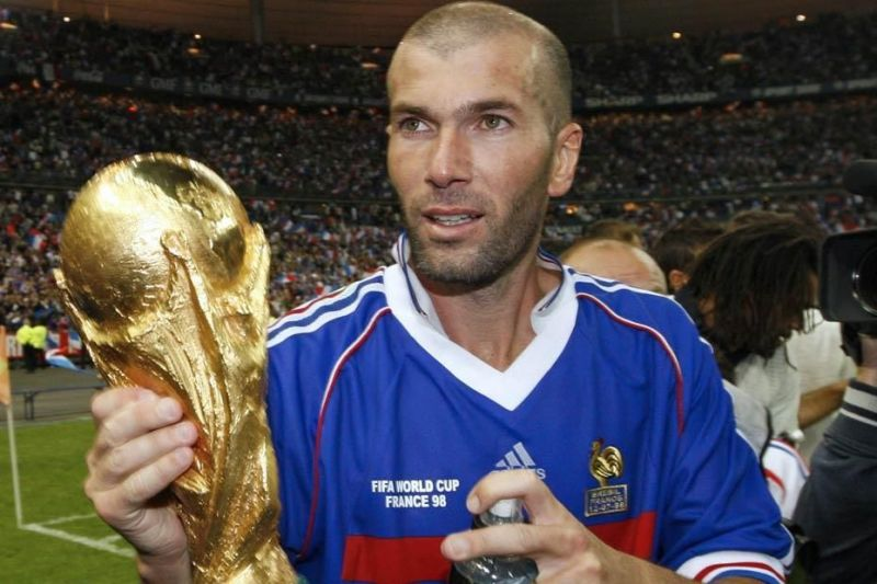 79fa3beaac3 Image result for Zinedine Zidane winning world cup