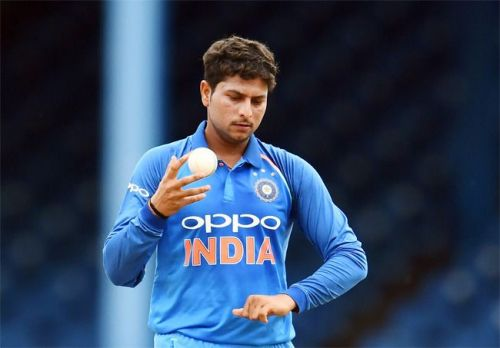 Kuldeep Yadav went for 46 runs from his four overs