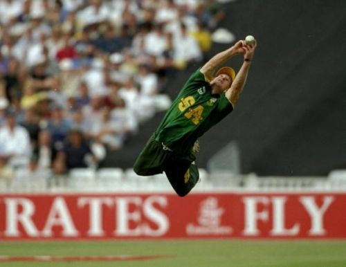 Jonty Rhodes is