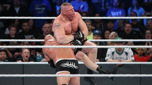 Goldberg squashed Lesnar in shocking fashion at Survivor Series 2016.