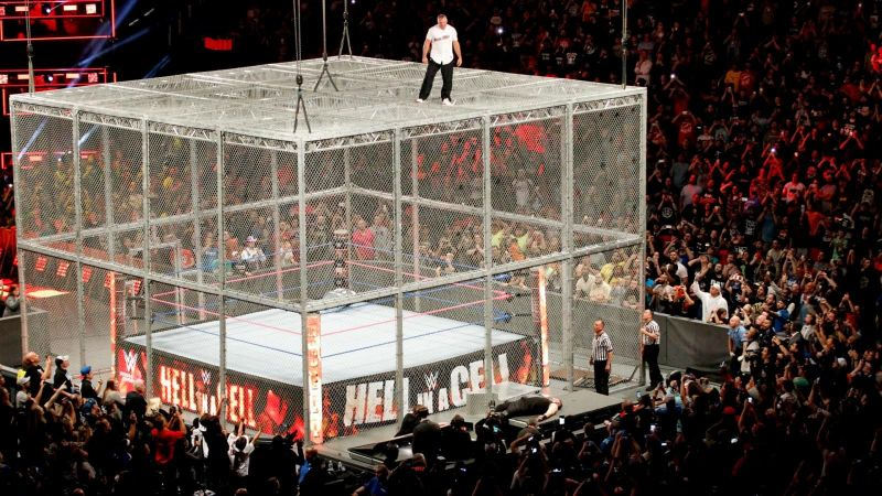 Kevin Owens and Shane McMahon faced each other in a brutal Hell in a Cell match