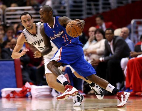 Manu Ginobili and Jamal Crawford