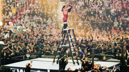RVD won the second ever Money in the Bank Ladder Match.