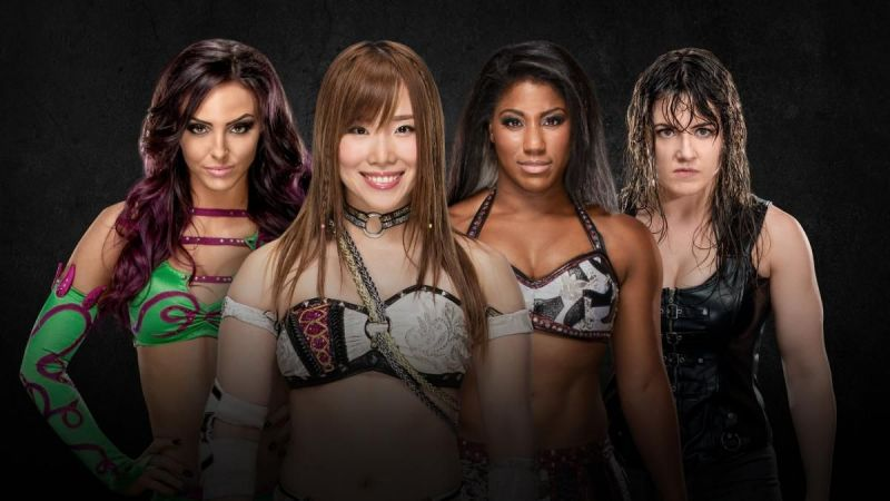 Image result for Ember Moon vs. Kairi Sane vs. Nikki Cross vs. Peyton Royce