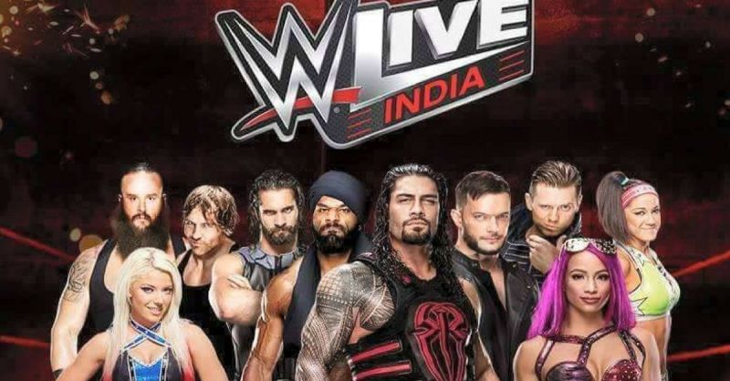 Wwe raw coming to india in december 2017 for two live events m4hsunfo