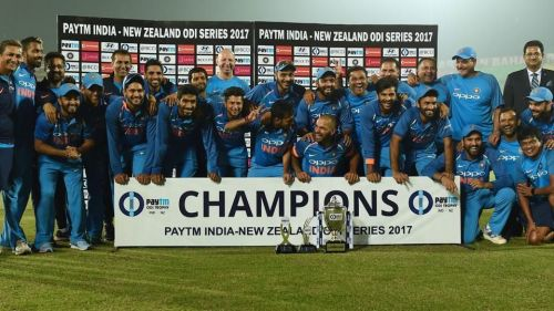 Champions for the 7th consecutive time