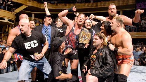 Rob Van Dam wins the WWE Championship