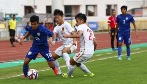 India U17s last played Colombia in August