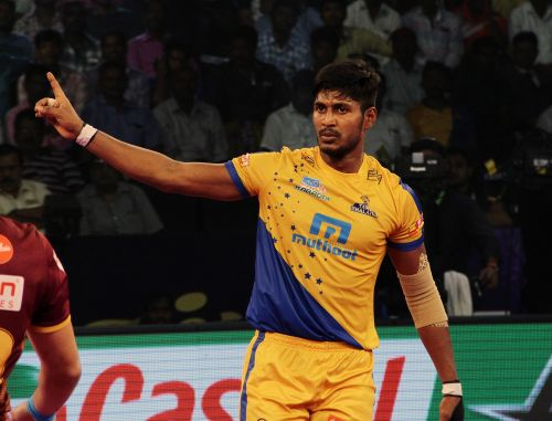 Prapanjan has emerged as a solid and consistent raider this season in support of Ajay Thakur