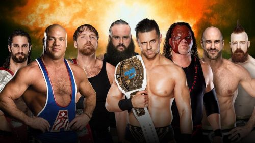Does Kurt Angle's inclusion change the dynamic of the entire match? Absolutely!