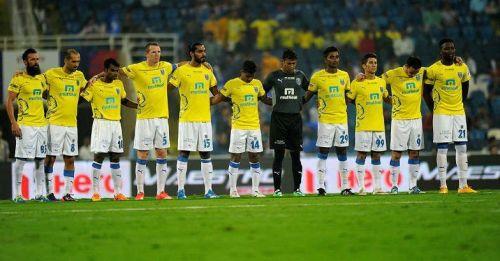 Kerala Blasters in a penalty shootout in ISL 2016