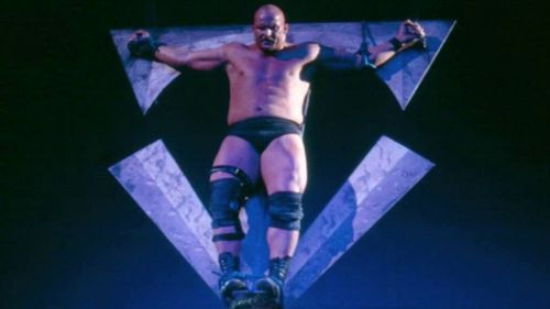 The Undertaker crucifies Stone Cold