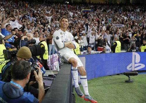 Ronaldo in all his gloryEnter caption