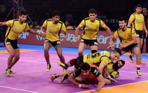 The Telugu Titans will look to end their season with a win.