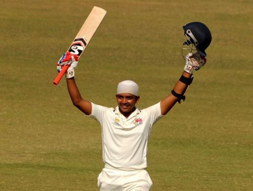Prithvi Shaw scored his second Ranji Trophy century in three matches