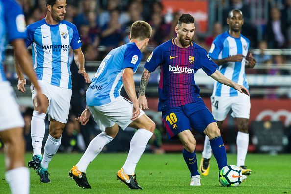 Malaga managed to stifle Messi but couldn