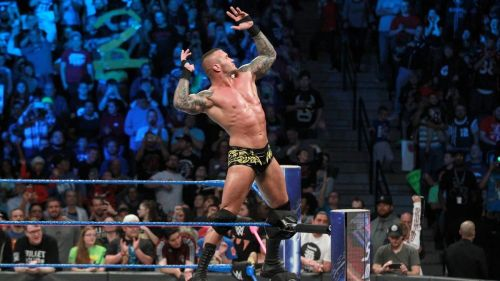 The Viper was in action following SmackDown Live last night