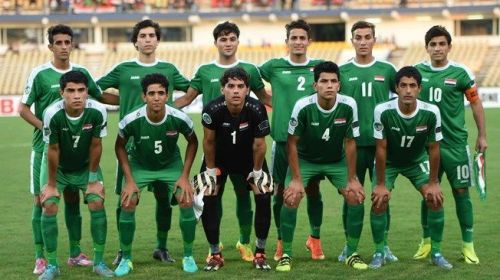 The Iraq U17 who are the reigning Asian champions