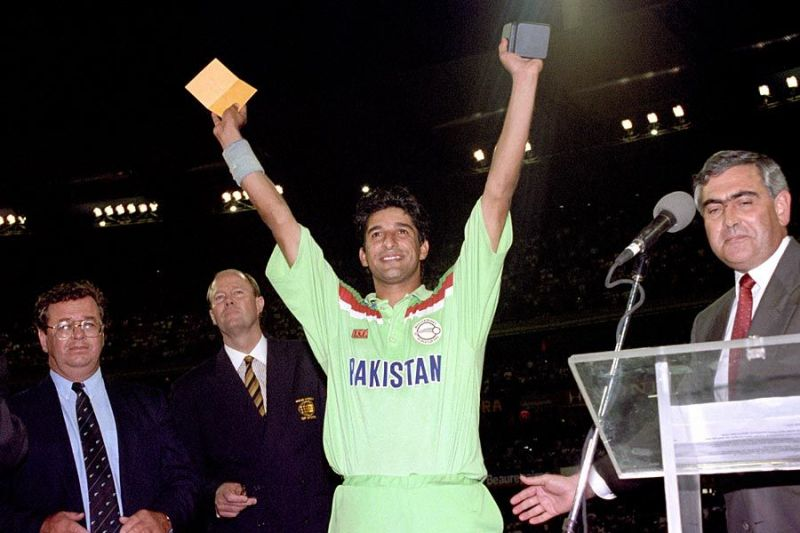 Wasim Akram was consistent throughout the 1992 World Cup and deserved to win the Player of the Tournament