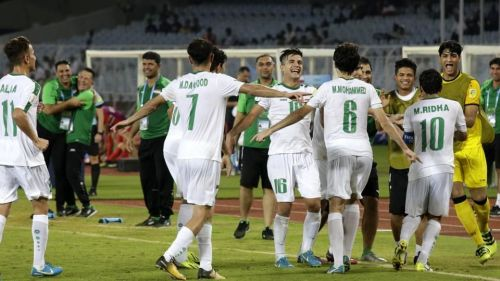 Iraq got their first ever U17 World Cup win against Mexico.