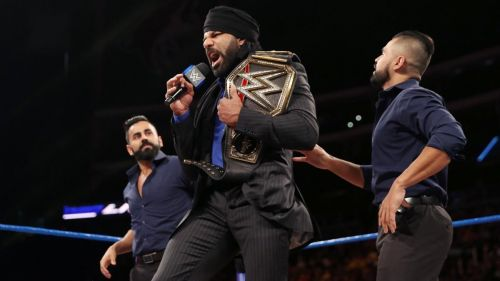Jinder Mahal was full of enthusiam and optimism, during this interview!