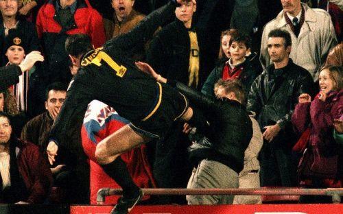 Image result for eric Cantona kick