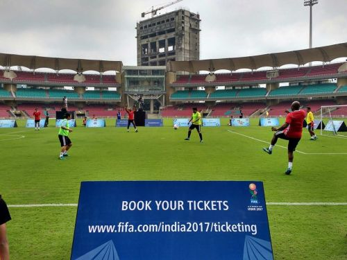 Infrastructure-wise, the DY Patil Stadium in Navi Mumbai is ahead of all the other arenas in the 2017 FIFA U-17 World Cup.
