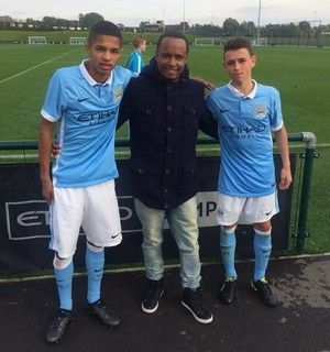 Vitinho had impressed during his trial with Manchester City.