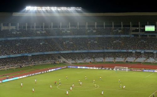 Kolkata's Salt Lake Stadium has had an average attendance of about 54,000 at the U17 World Cup