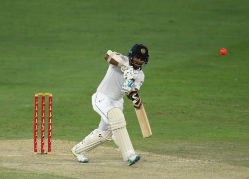 Karunaratne scored a brilliant 196 in the first innings