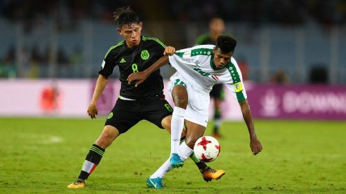Mexico captain Gutierrez didn't have the desired impact although he played well